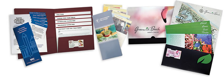 stacked inserts | admore® folders, Presentation templates