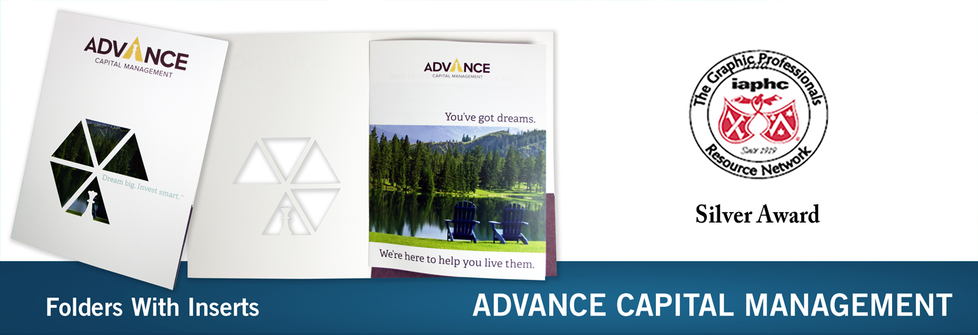 Advance Capital Management Folder Winner
