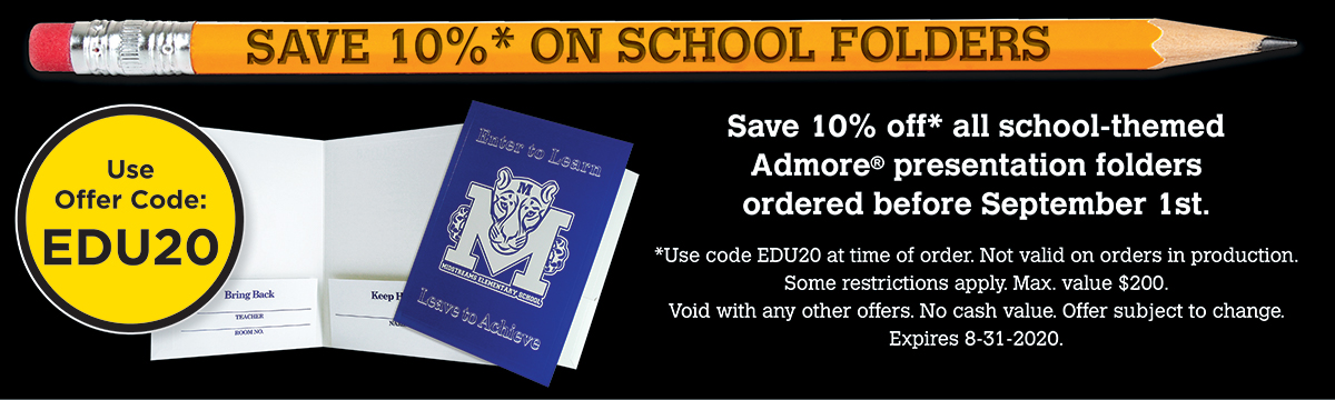 Save on School and Education Folders