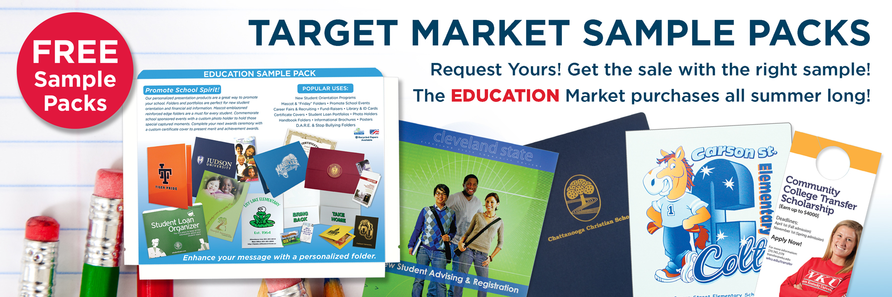 Target Market Sample Packs