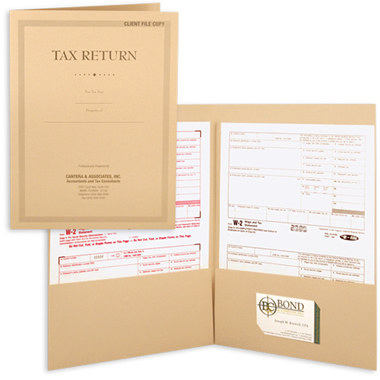 08-28-011 Tax Return Presentation Folder