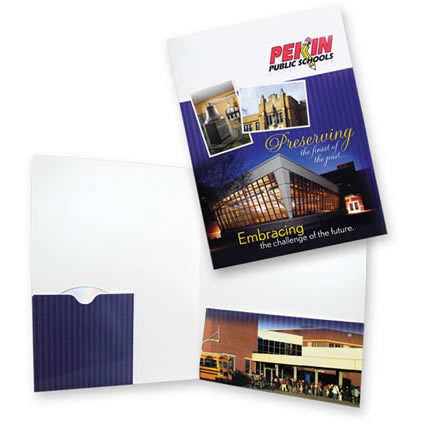 08-62 CD Sleeve and Right Pocket Folder