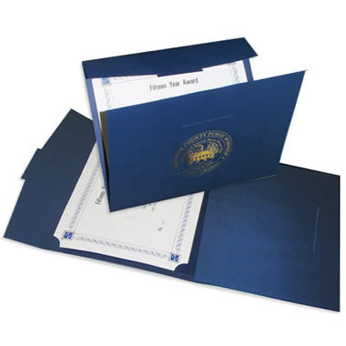 Certificate Covers | Admore® Folders