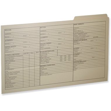 09-25-003 Legal Size File Folder
