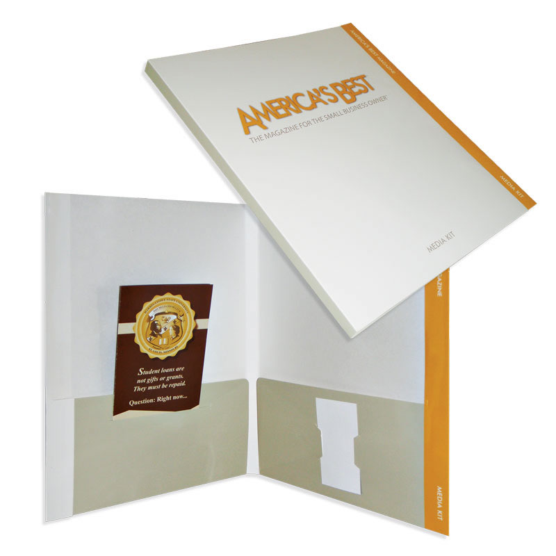 "29-76 Reinforced Edge Tab Folder with 1/2"" Backbone"