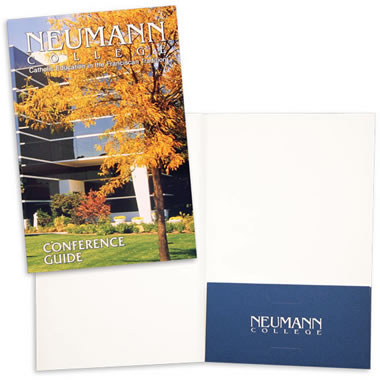 "68-04 6"" x 9"" One Right Pocket Folder"