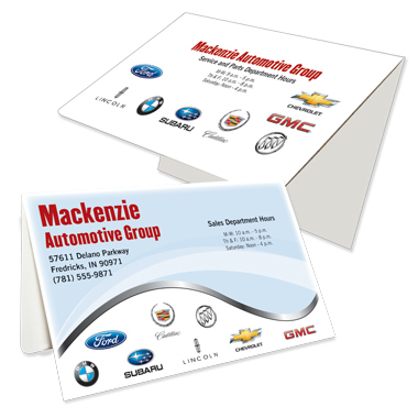 D-02-01-804 Auto Dealer Digital Print Document Folder