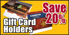Save 20% on Gift Card Holders