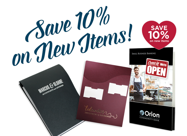 Save 10% on New Items