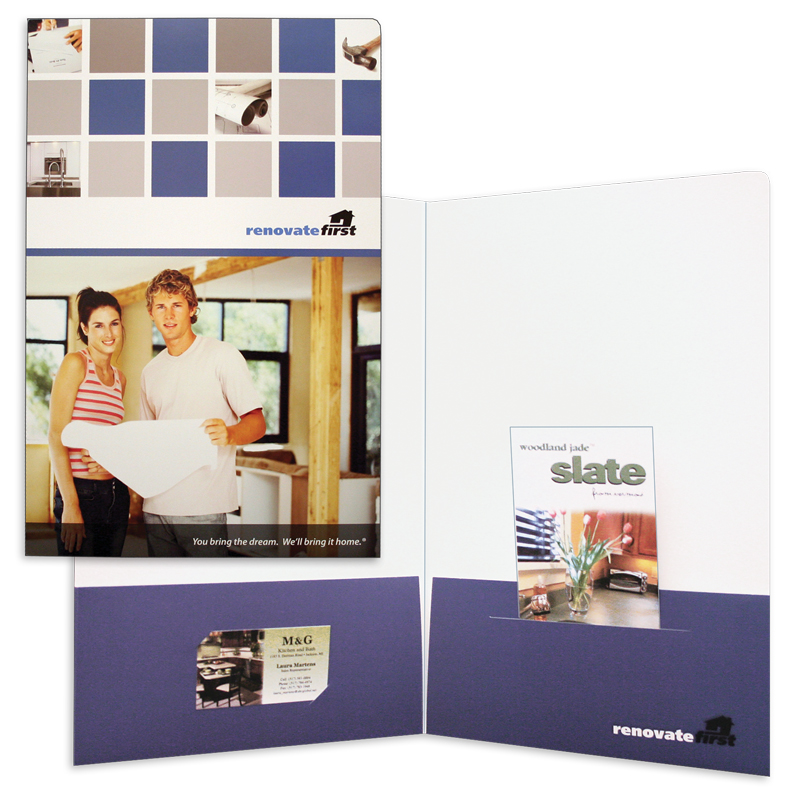 Presentation Pocket Folders   Admore® Folders