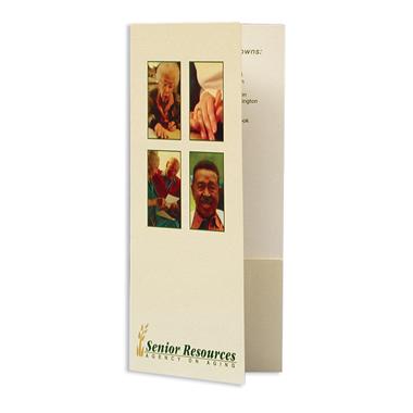"48-01 4"" x 9"" two pocket folder | admore® folders, Presentation templates"