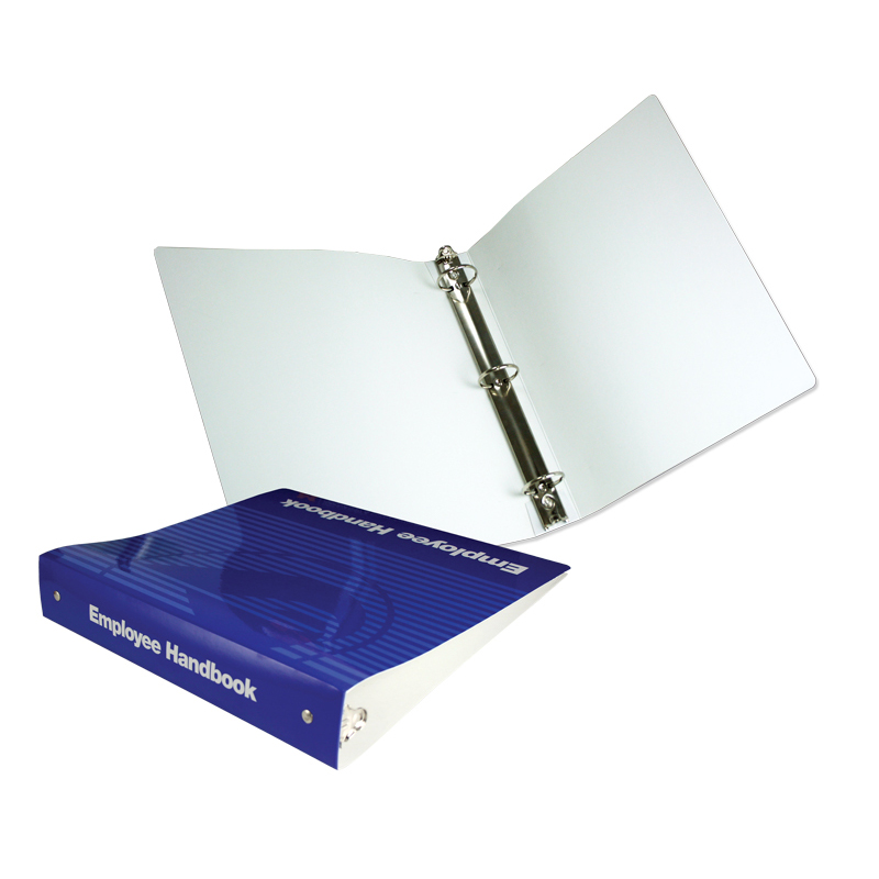 99-01 Three Ring Binder Without Pockets