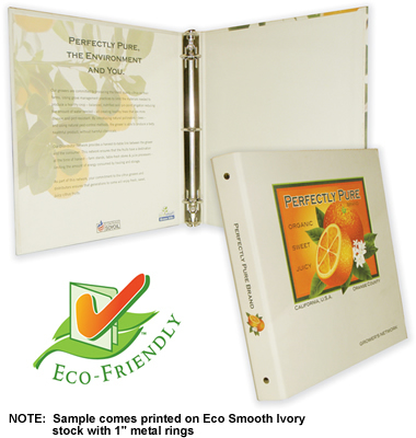 Turned Edge Eco Binder