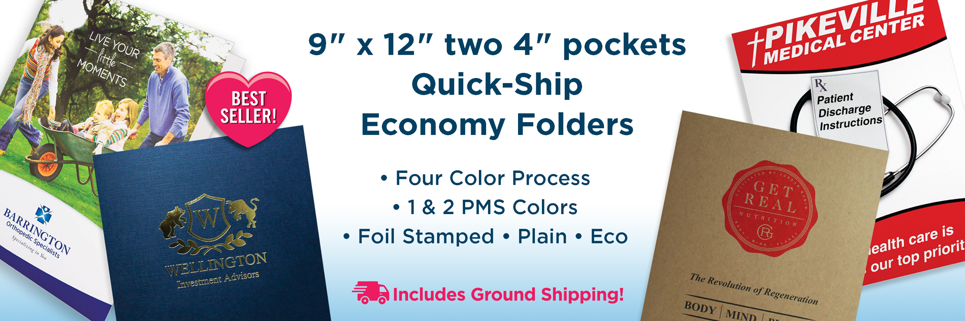 4CP Quick Ship Folders from Admore
