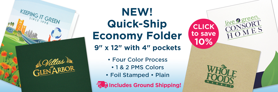 New Quick Ship Folders from Admore