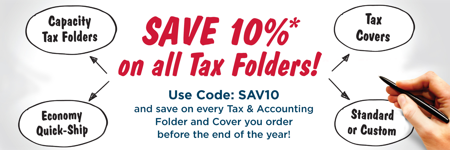 Save on Accounting & Tax Folders from Admore