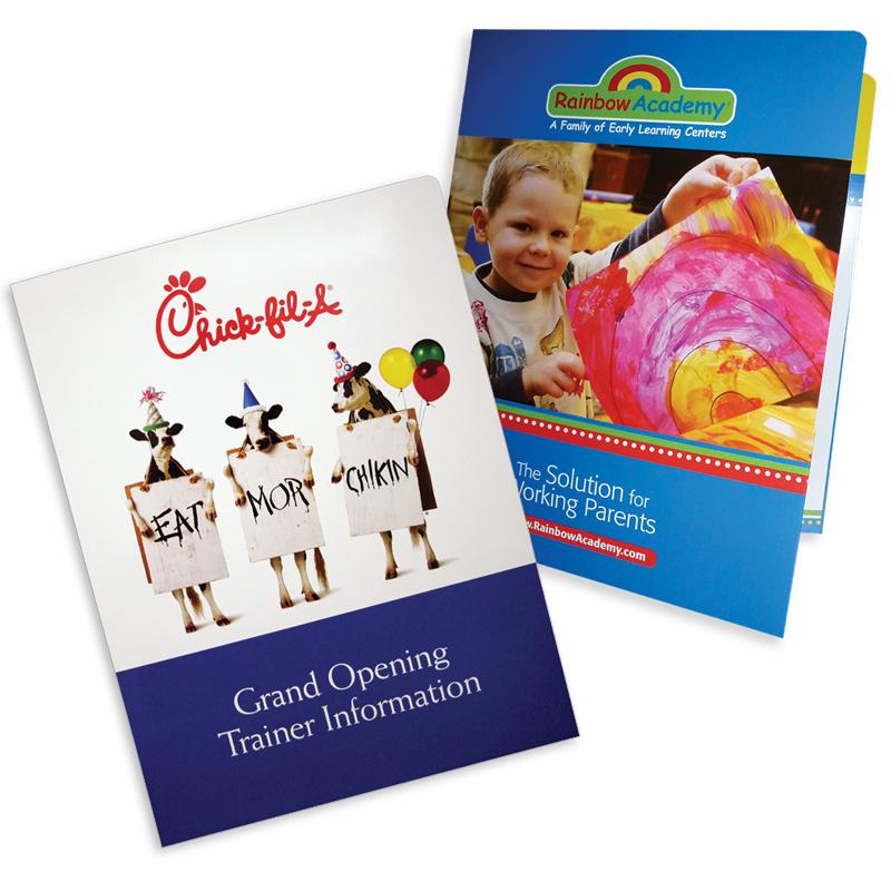 08-01 the original two pocket folder | admore® inc., Presentation templates